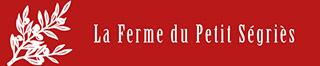 Site officiel de la ferme du petit Ségriès – Moustier Sainte Marie Logo