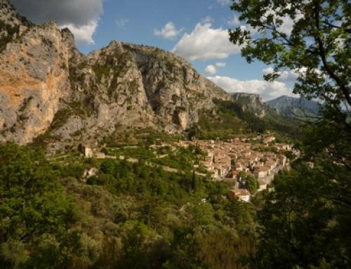 Randonnée pédestre Castillon Moustiers Sainte Marie au départ du Petit Ségriès